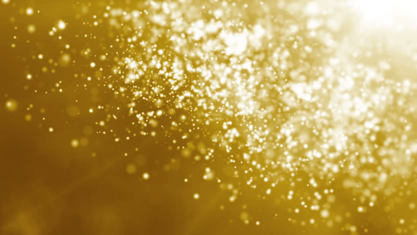 Golden particle seamless background | Shutterstock HD Video #2734904