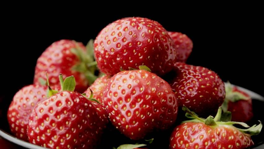 Strawberries - HD stock video clip