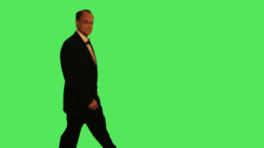 portrait of senior male - HD stock footage clip