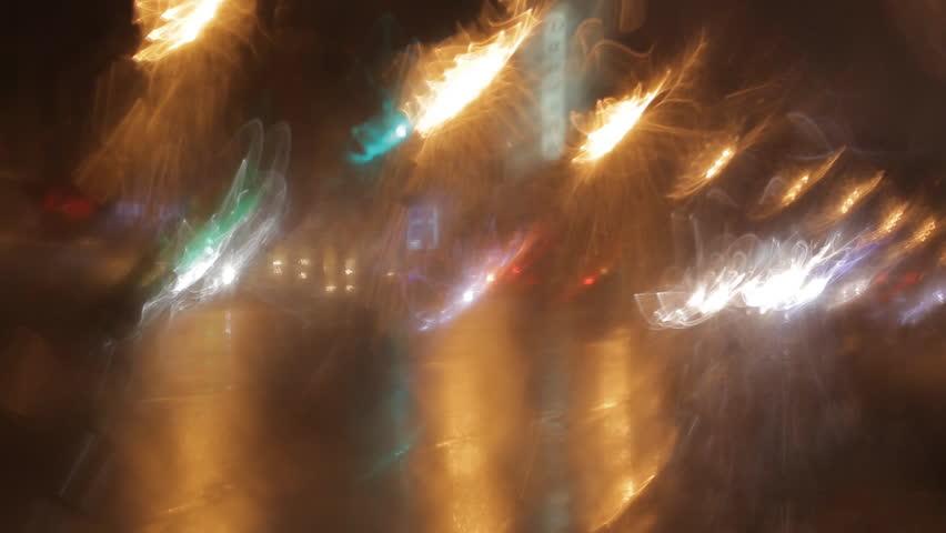 car window rain night background defocused stock footage video 2961340 shutterstock. Black Bedroom Furniture Sets. Home Design Ideas