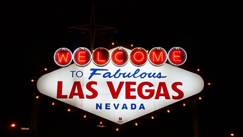 LAS VEGAS - DECEMBER 03: The famous Welcome to Fabulous Las Vegas Sign on December 03, 2011 in Las Vegas. The lighted landmark has been welcoming visitors to the city since 1959.