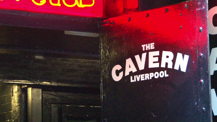 LIVERPOOL, ENGLAND - CIRCA 2011: Entrance to The Cavern Club, former home of The Beatles performances in Liverpool.