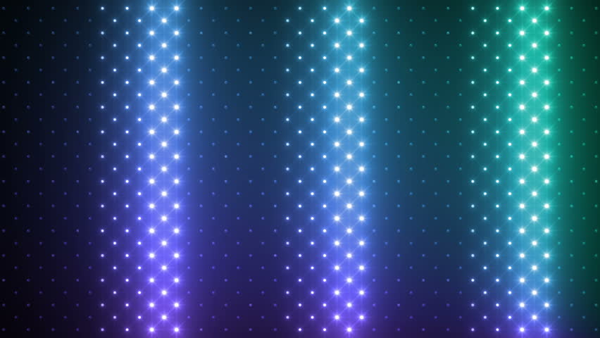 LED Light wall. | Shutterstock HD Video #3283589