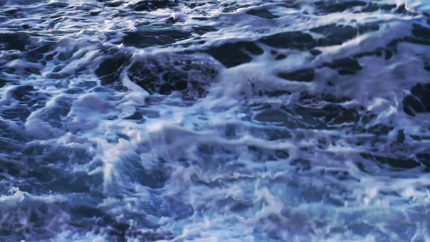 Breaking of waves | Shutterstock HD Video #3306935