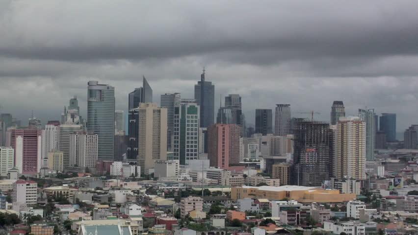 Makati Skyline, Manila, Philippines