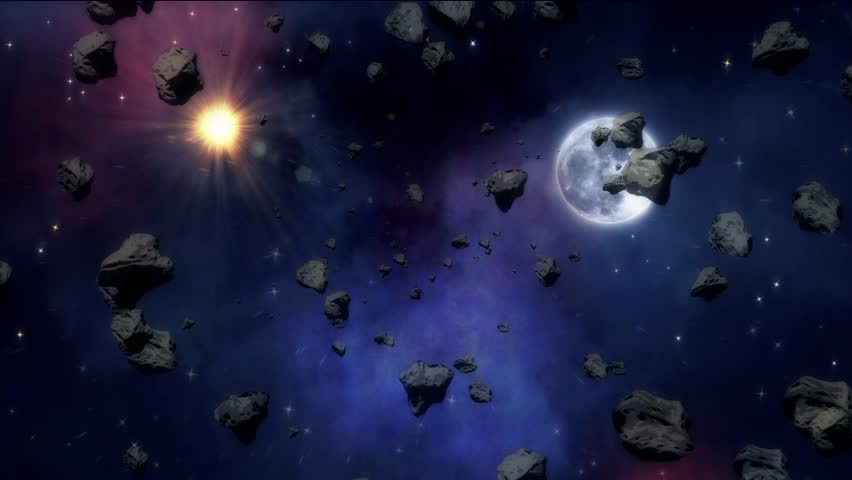 asteroid field hd - photo #48