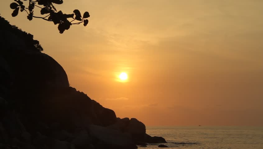 Sunrise in Ko Phangan | Shutterstock HD Video #3493991