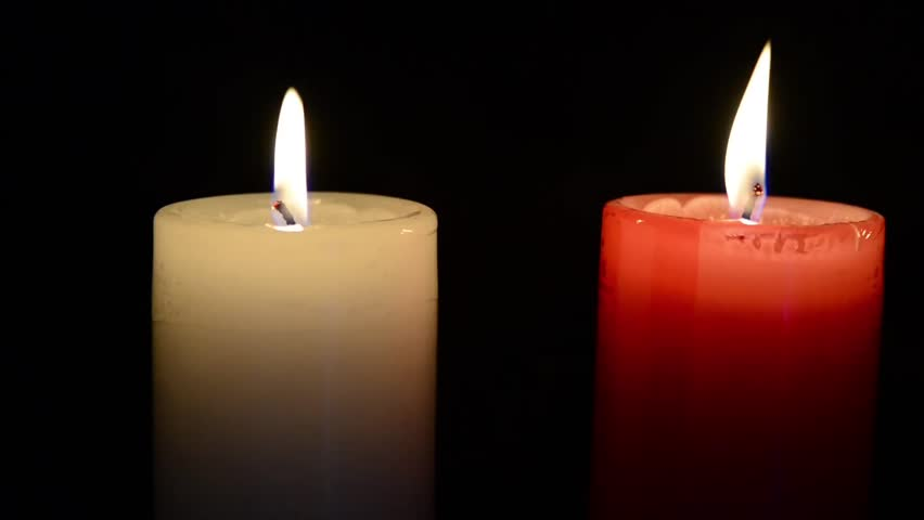 Lit Candle Video Stock Footage Video 3546200 - Shutterstock