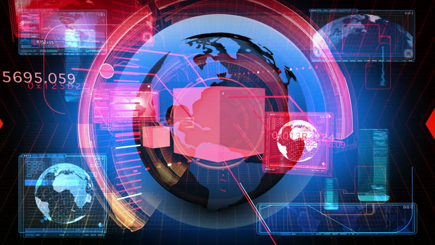 Digital Data Code Network Interface Technology | Shutterstock HD Video #3509804