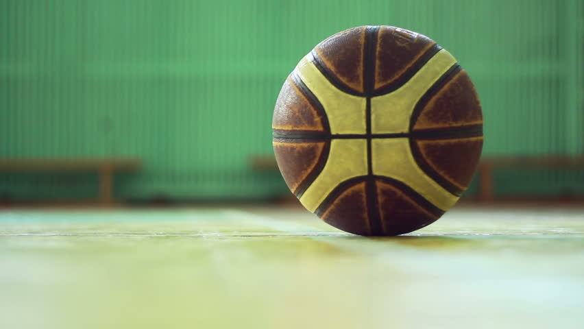man picking up the ball and starts playing - HD stock footage clip