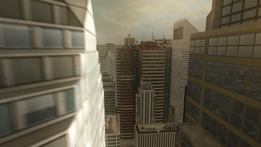 3D City Flight