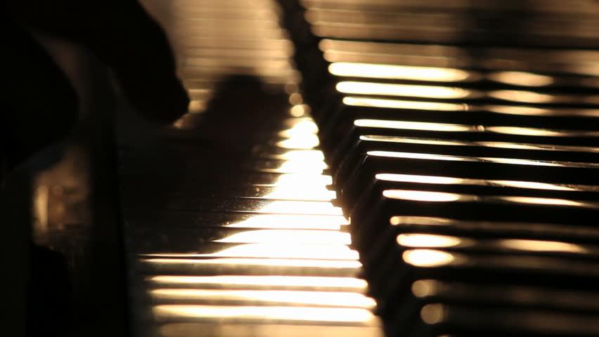 Piano close up shot 3 | Shutterstock HD Video #3570995