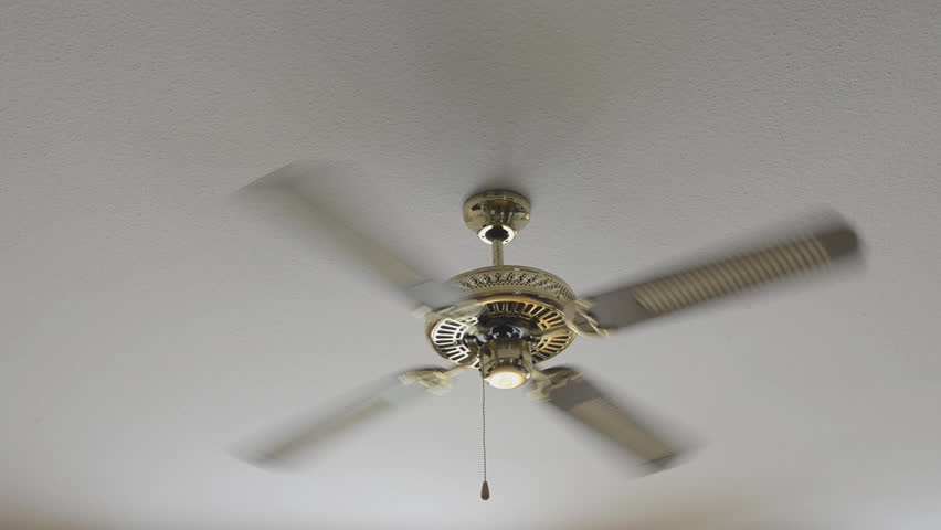Ceiling Fan Refreshing Stock Footage Video 603457
