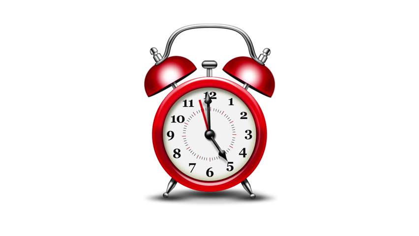 Ringing Alarm Clock Animation