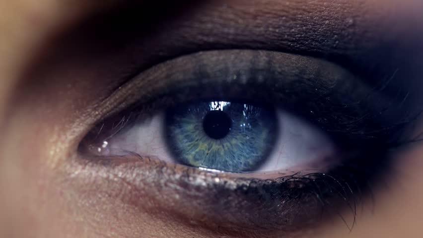 Human eye close up macro 1920x1080
