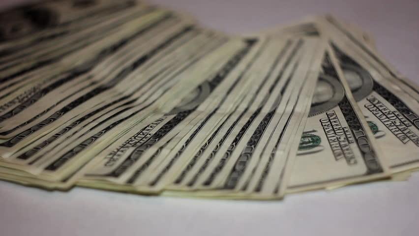 grabbing money 05 - HD stock video clip