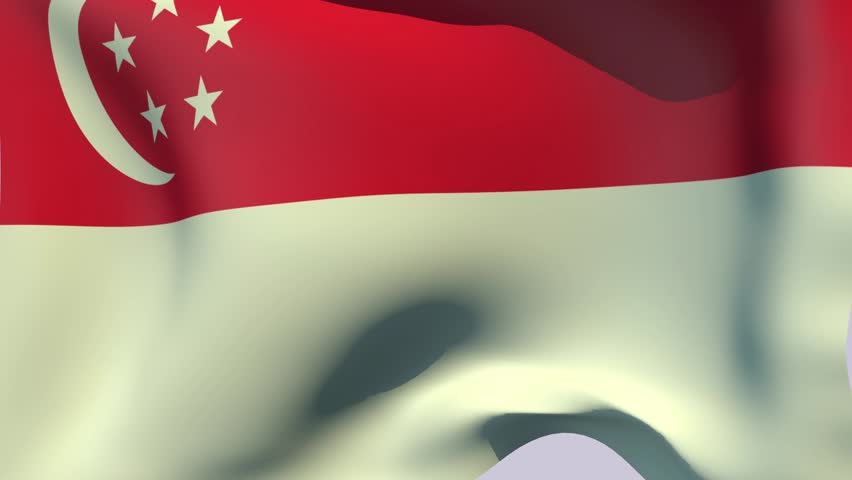 Image result for free stock images billowing singapore flag