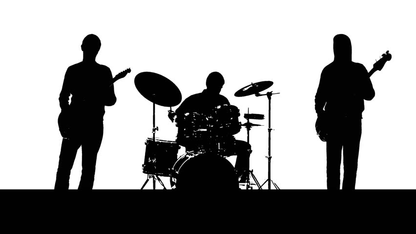 clipart of music bands - photo #31