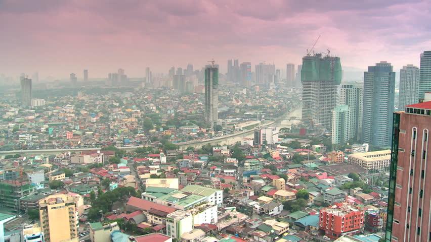 smog over manila