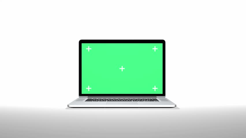 Notebook with track Green screen | Shutterstock HD Video #3728252