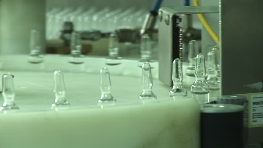 Automatic production of medicines in ampoules