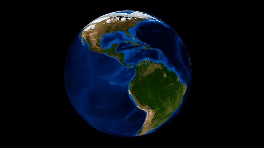Disintegrating Earth At Space. Data Source: Nasa Stock ...