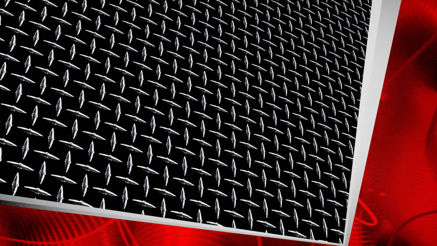 Background Plate Footage Diamond Plate Background