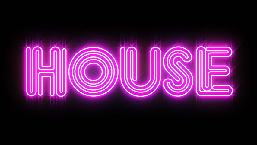 House Neon Sign