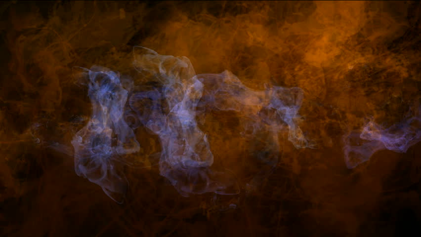 explosion magma energy field,smoke & fire in space. - HD stock video clip
