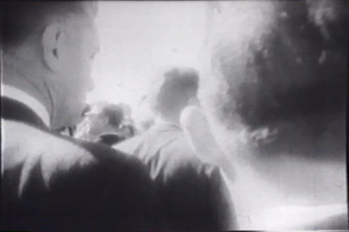 1960s - Raw silent news footage of events leading up to the John F. Kennedy assassination. - SD stock footage clip