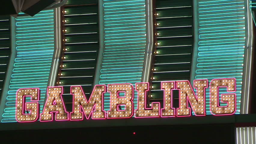 Vintage Gambling Neon Marquee Loop | Shutterstock HD Video #3950939