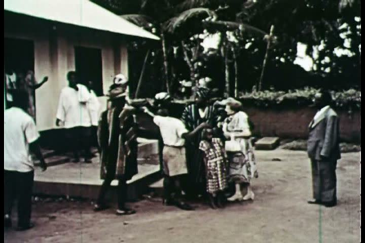 1950s - Nigeria in the 1950s. - SD stock footage clip