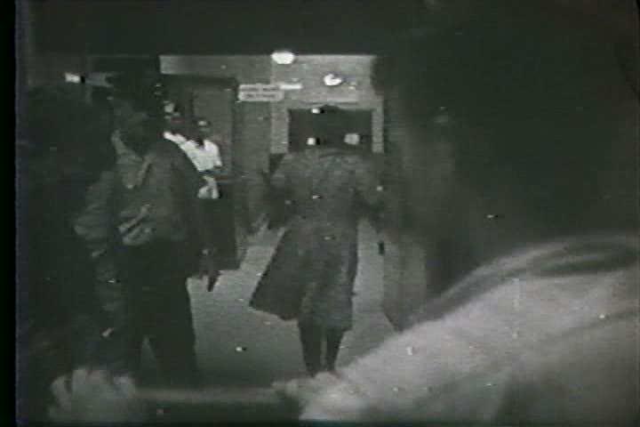 1960s - Hurricane Betsy devastates Louisiana in 1965. - SD stock footage clip