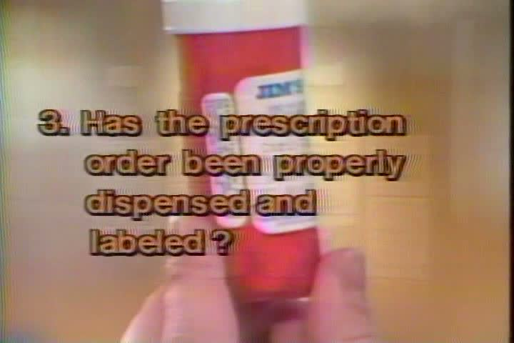1980s - A narrator reviews the proper labels prescription drugs should use in the 1980s