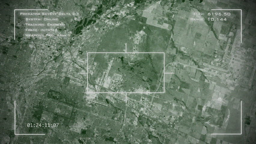 Military Surveillance Screen