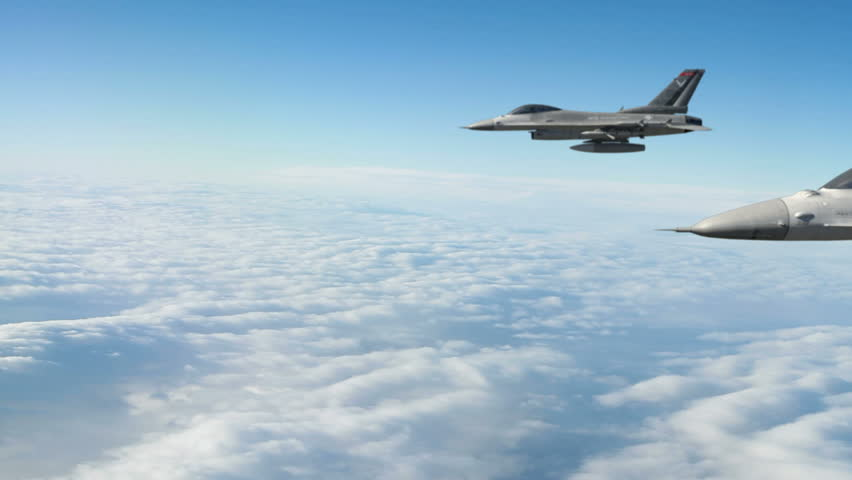 F-16 Fighter Jets.  F-16 Fighting Falcon is a U.S. single-engine multirole fighter aircraft.