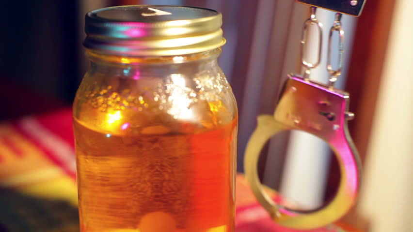Illegal moonshine of the south - HD stock footage clip