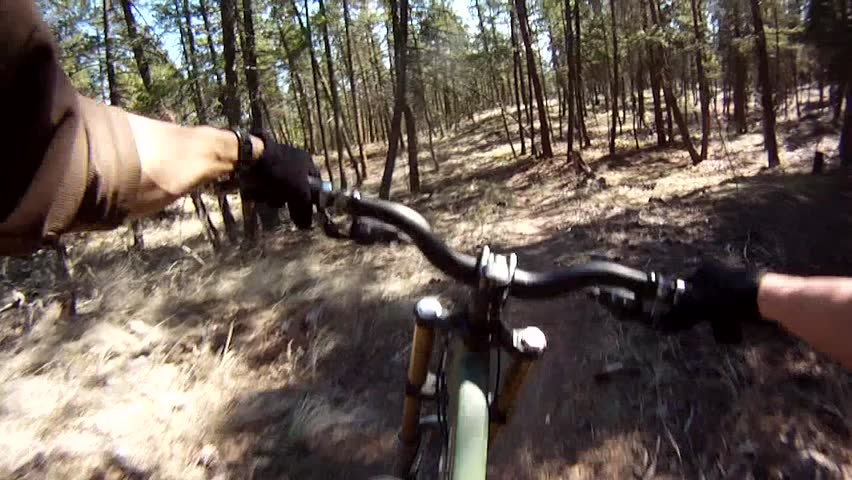 Bike Rider's Point of View on Trail | Shutterstock HD Video #4502522