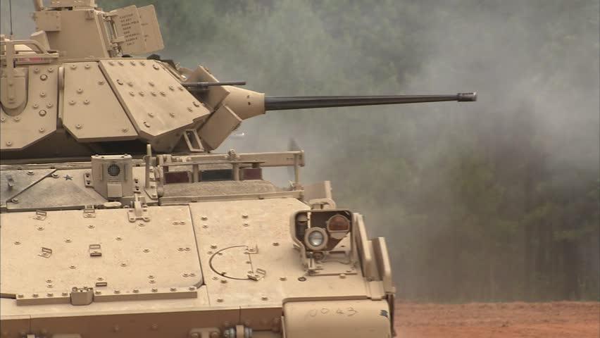 Military, M2 Bradley Various shots