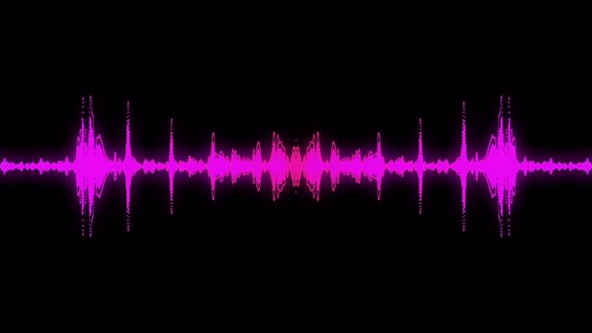 audio specturm purple colour stock footage video 4515932