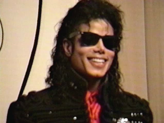LOS ANGELES - February 20, 1990: Michael Jackson at the Michael Jackson Honored By CBS Records in the in Los Angeles February 20, 1990