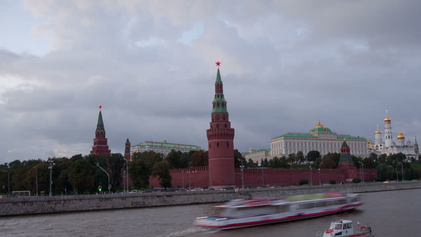 Moscow in Russia - HD stock footage clip