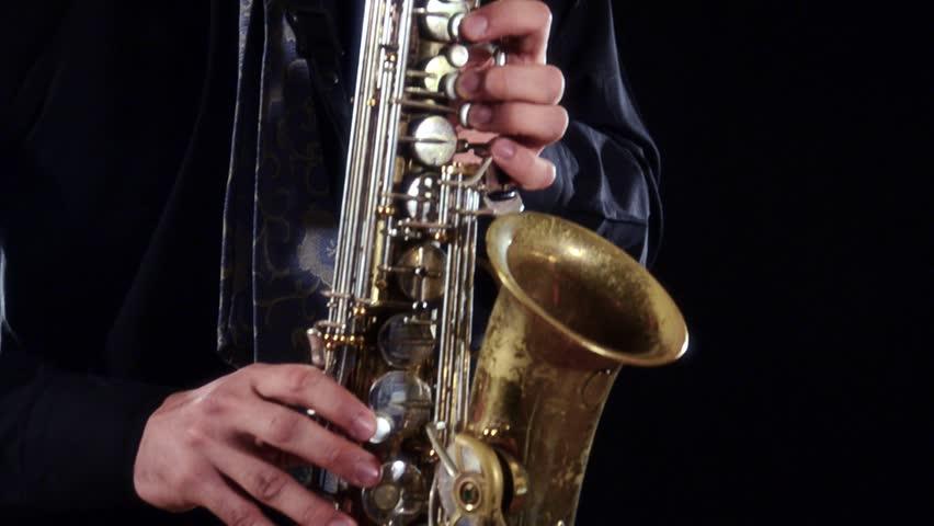 how to play sfz on sax