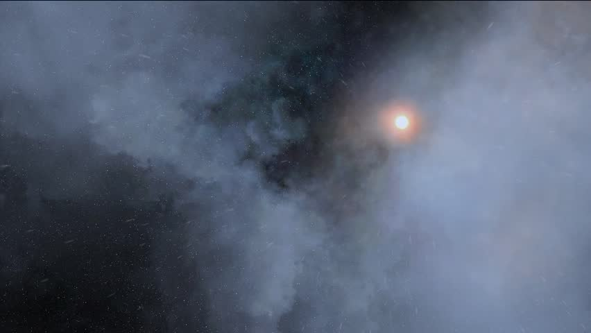 Explosions In Deep Space Stock Footage Video 4653335