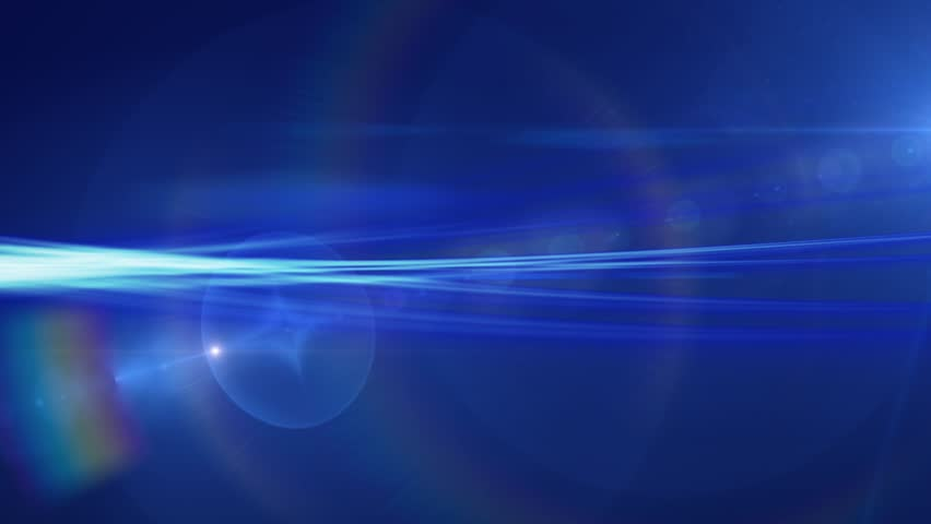 Streaks of Blue Light Abstract Motion Background