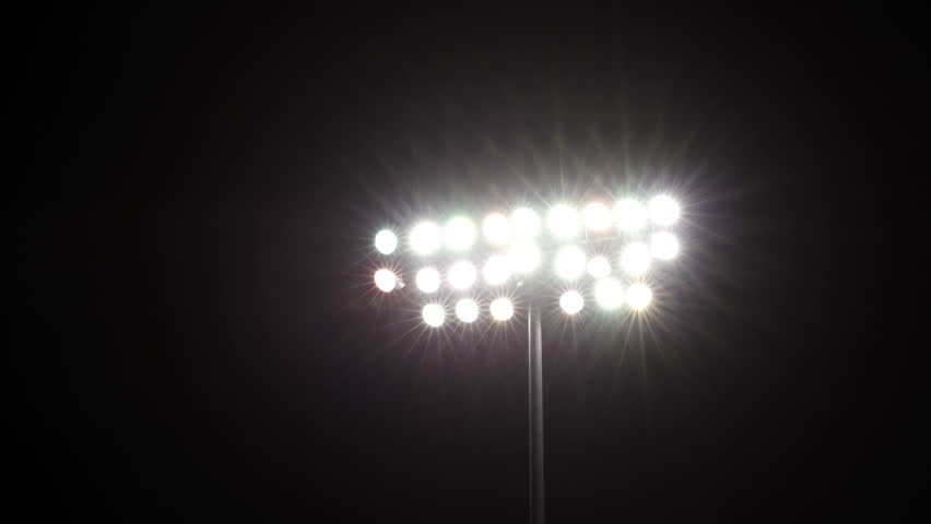 Floodlight Flares Stock Footage Video 2590814