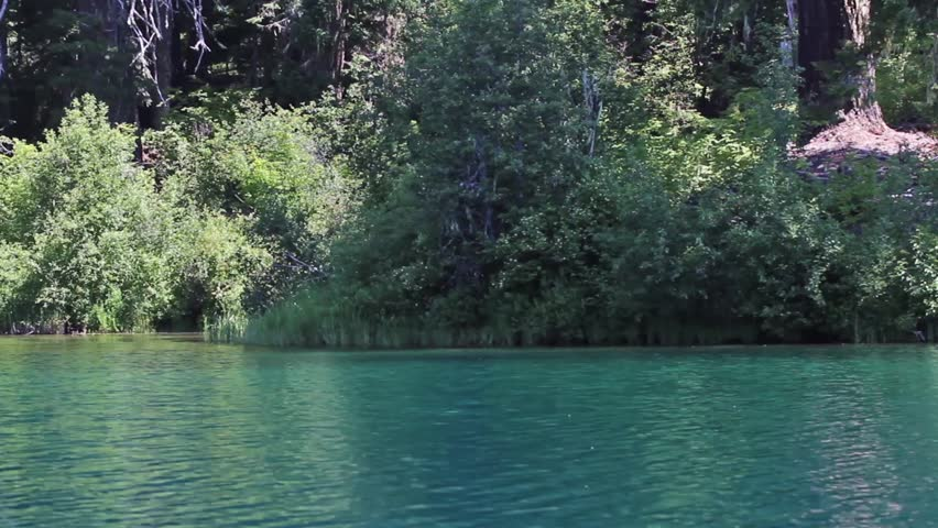 Panning the shoreline of clear lake oregon from kayak for Clear lake oregon fishing