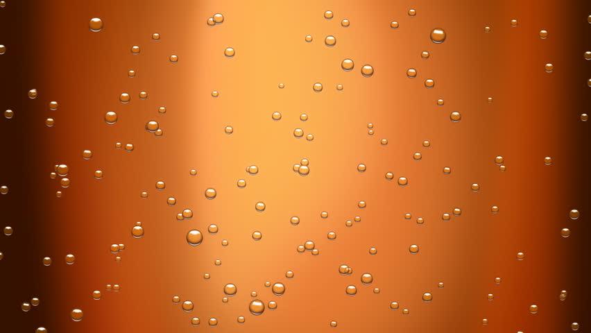 cola bubbles (seamless loop) + alpha matte - HD stock video clip