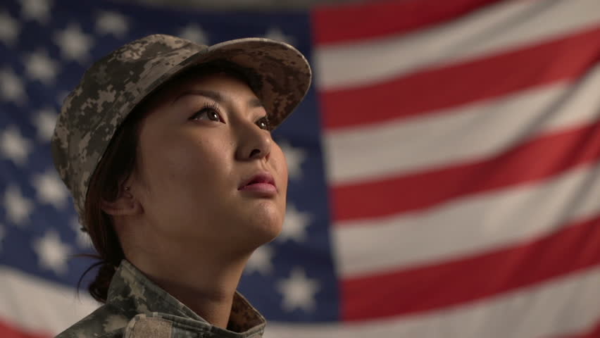Asian American Soldier 8