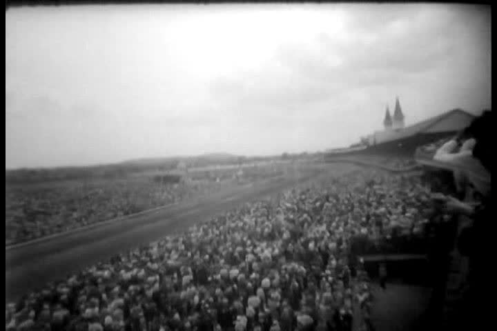 1950s - Kentucky Derby race of 1958.